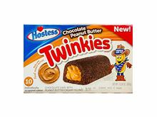 Hostess  Chocolate  Peanut Butter Twinkies 10pk