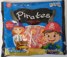 Pirate lollipop 400g