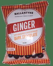 Ginger dark chocolate 150g Ballantyne