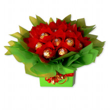 xmas chocolate bouquet