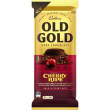 old gold cherry ripe 180g cadbury