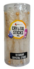 white sugar crystal sticks