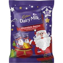 xmas chocolate santa cadbury