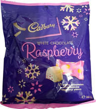 Cadbury White Choc Raspberries