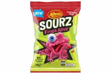sourz frogs alive 170g allens