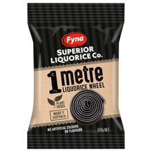 metre black licorice wheel fyna