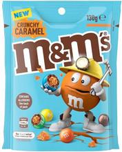 m&ms crunchy caramel 130g