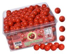 Strawberry Bubblegum bubble gum balls