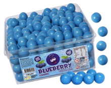 Blueberry Bubblegum bubble gum balls