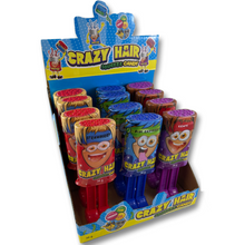 crazy hair squeeze candy