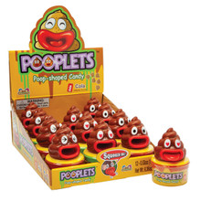 Pooplets and cola poop candy