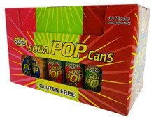 Soda Pop cans  36 pieces Jojo's.