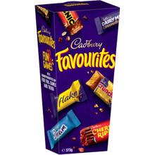favourites cadbury 373g chocolate