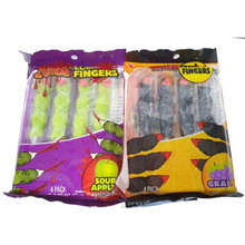 Zombie & Witches finger lollipops