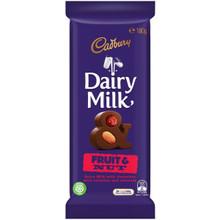 cadbury block fruit and nut