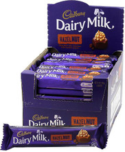 cadbury hazelnut box