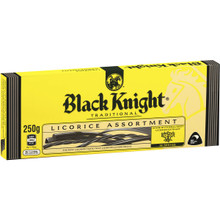 Black Knight Licorice 250g
