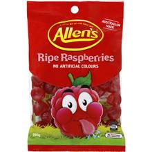 Allens Ripe Raspberries 190g