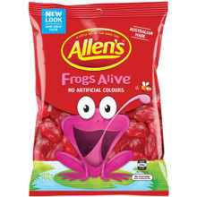 Allens Frogs Alive 12 x 190g