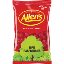 allens bulk ripe raspberries confectionery