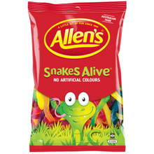 allens snakes alive lollies