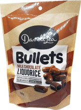 Darrell Lea licorice bullets