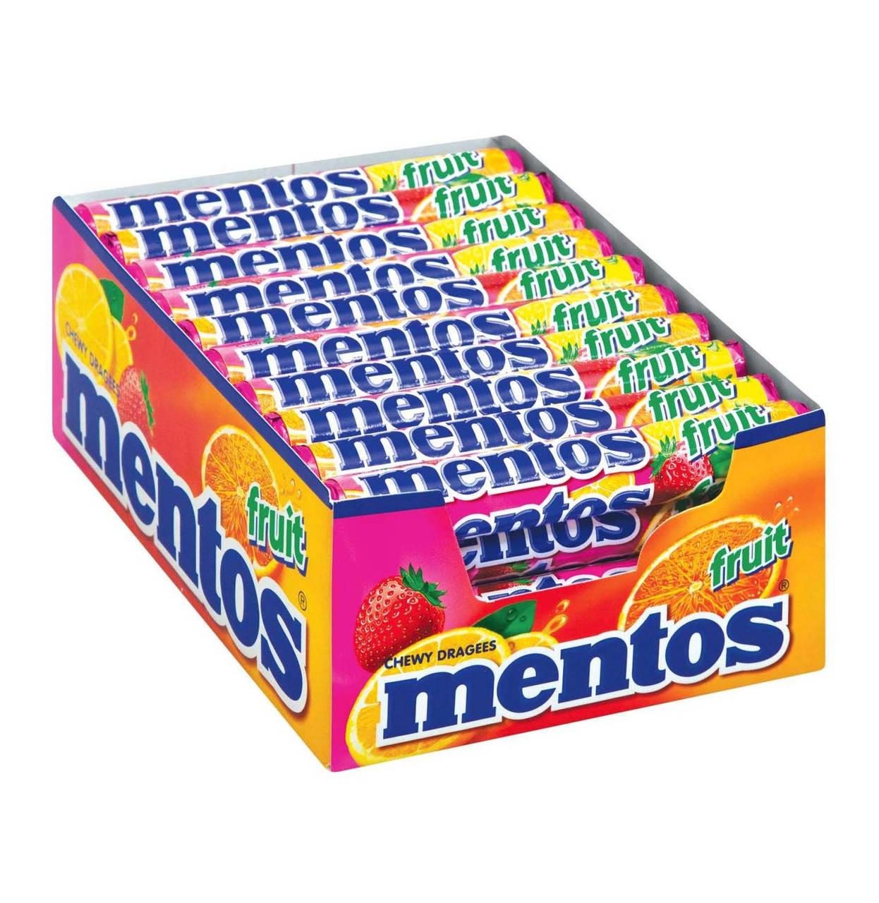 Mentos Fruit Rolls 40 Rolls