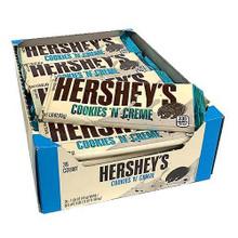 USA Hersheys cookies and cream chocolate bars 43g
