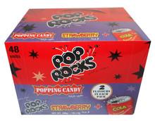 48 pop rocks strawberry cola
