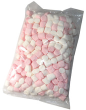 Pink & white mini marshmallow