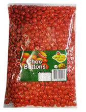 choc buttons red 1kg