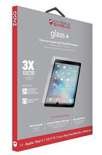 "Zagg InvisibleShield Tempered GlassPlus iPad 9.7""(2017)/Pro 9.7""/Air 2"