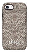 OtterBox Symmetry Leather Case iPhone 7 - Dark Brown/Light Snake Skin