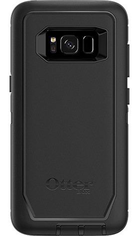 otterbox defender case for samsung galaxy s8 black. Black Bedroom Furniture Sets. Home Design Ideas