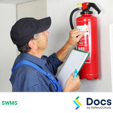 Fire Extinguisher (Installation & Maintenance) SWMS 10423-2