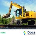 Mobile Plant (Road/Rail Excavator) SWMS | Safe Work Method Statement
