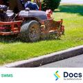 Garden/Grounds Maintenance SWMS | Safe Work Method Statement