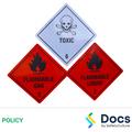 Hazardous Chemicals, Substances and Dangerous Goods Policy