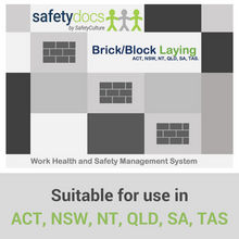 Construction/Subcontractor WHSE - Brick / Block Laying 50087-3