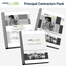 Construction Site WHSE Management Pack - Principal Contractor 50100-4