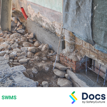 Concrete Underpinning SWMS 10330-2