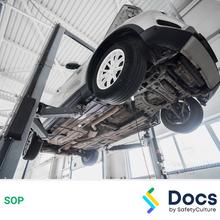 Vehicle Hoist SOP 60010-2