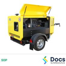 Air Compressor (Petrol/Diesel) SOP 60037-2