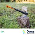 Log Splitter - Splitting Axe SOP | Safe Operating Procedure