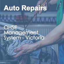 OHS - Auto Services Occupational Health & Safety Management System (Victoria) 50142-3