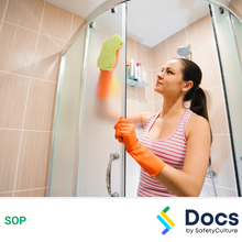 Cleaning Bathrooms (Private Residences) SOP 60076-2