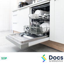 Dish Washing Machine SOP 60087-2