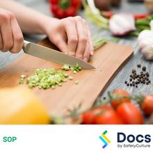 Knife Use (Kitchen) SOP 60117-2