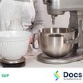 Mixing Machine (Kitchen) SOP | Safe Operating Procedure