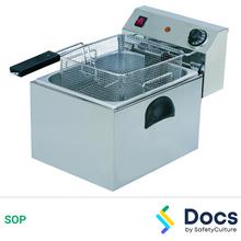 Deep Fryer SOP 60085-2